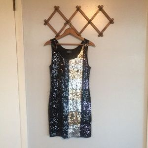 Angie SEQUIN Holiday NEW Years Party Dress Sz S/M